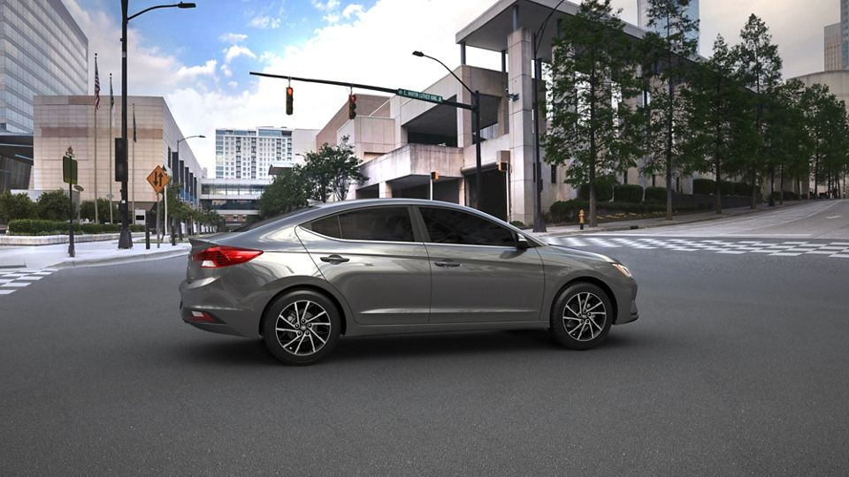 360 Exterior Image of the 2020 ELANTRA in Gray