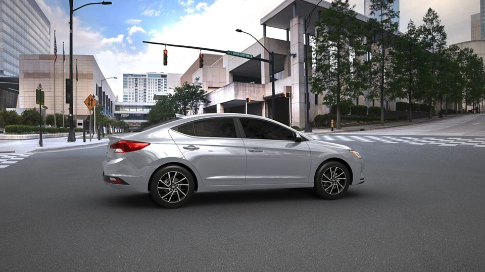360 Exterior Image of the 2020 ELANTRA in Silver