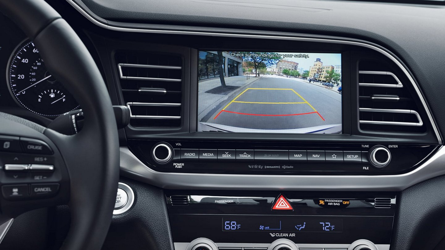 2020 Hyundai Elantra Limited Rear View Monitor