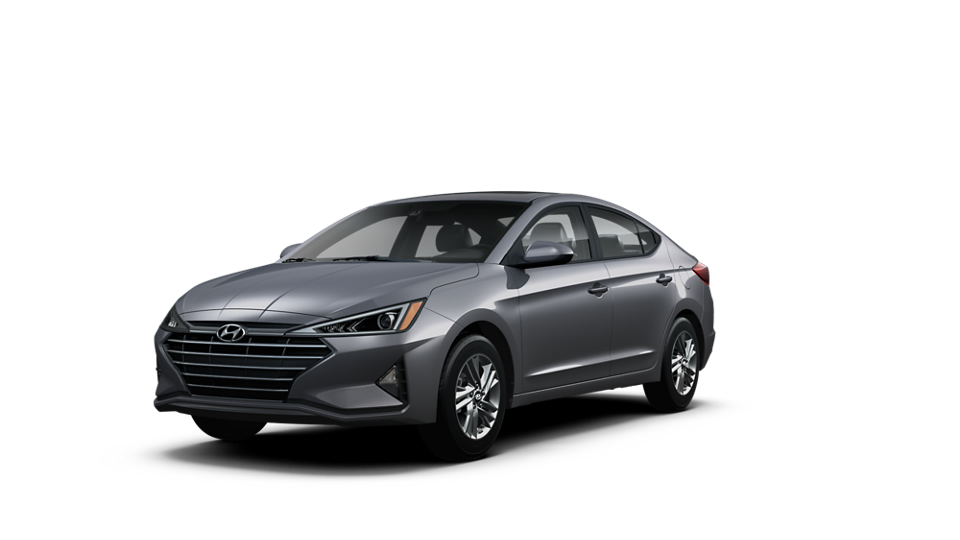 360 Exterior Image of the 2020 ELANTRA Value Edition in Gray