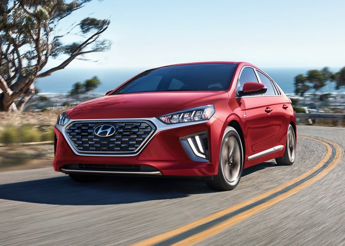 2020 Hyundai Ioniq Hybrid Limited Highway Driving Assist