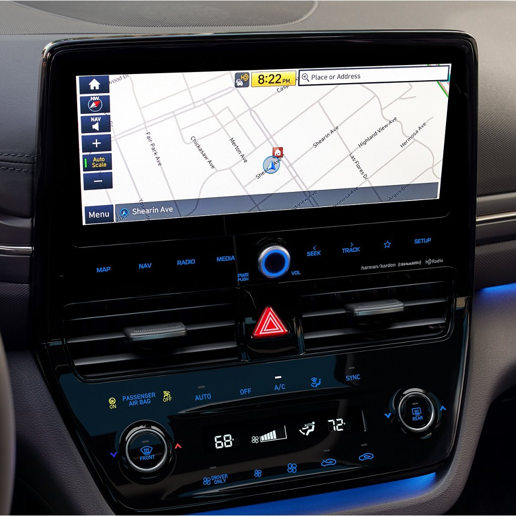 2020 Hyundai Ioniq Hybrid Limited Touchscreen Navigation