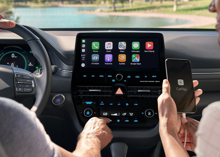 Hyundai USA | Android Auto y Apple CarPlay del Ioniq Plug-in Hybrid SEL
