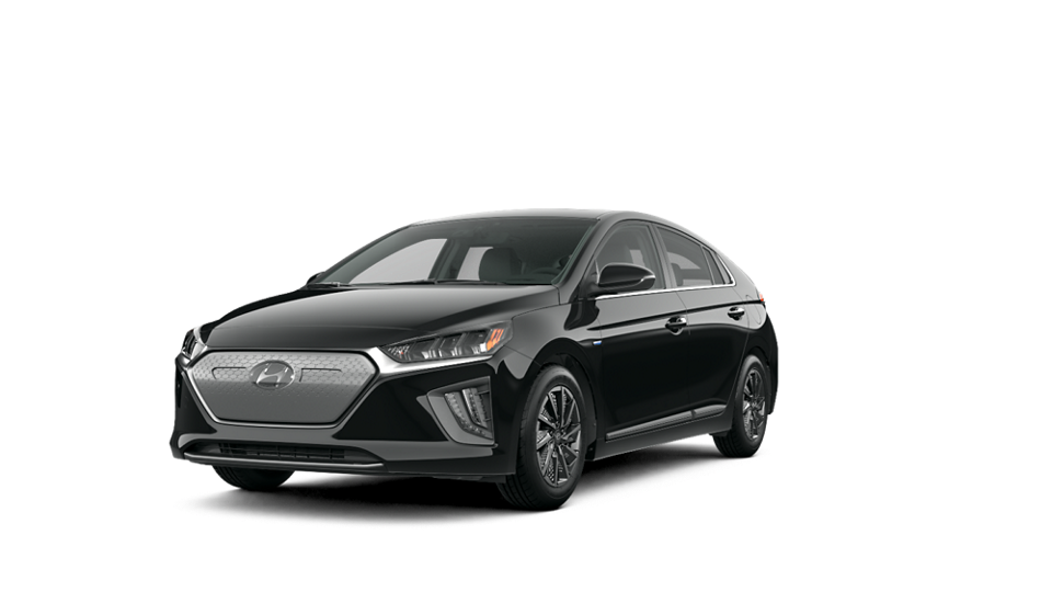 Black Noir Pearl에서 2020 IONIQ Electric Limited의 360 외관 이미지