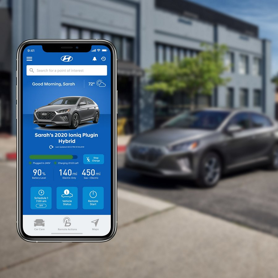 Hyundai USA | 2020 Ioniq Plug-In Hybrid remote charge scheduling