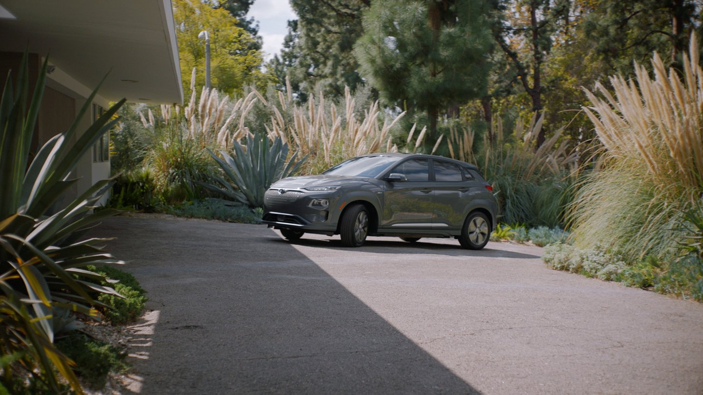 2020 Kona Electric Ultimate in Galactic Gray