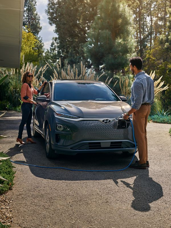 2020 Hyundai Kona Electric charging