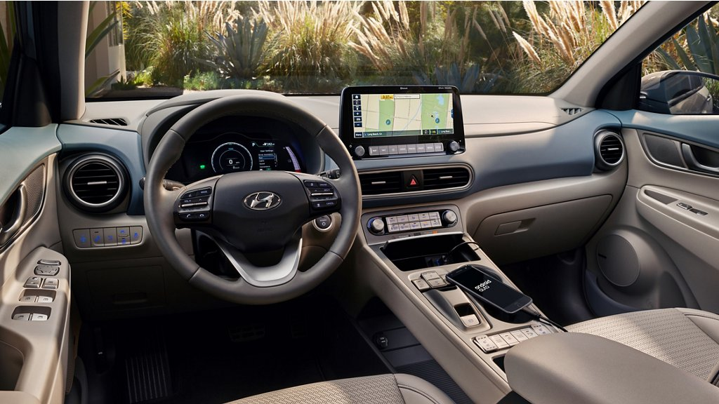 2020 Hyundai Kona Electric interior