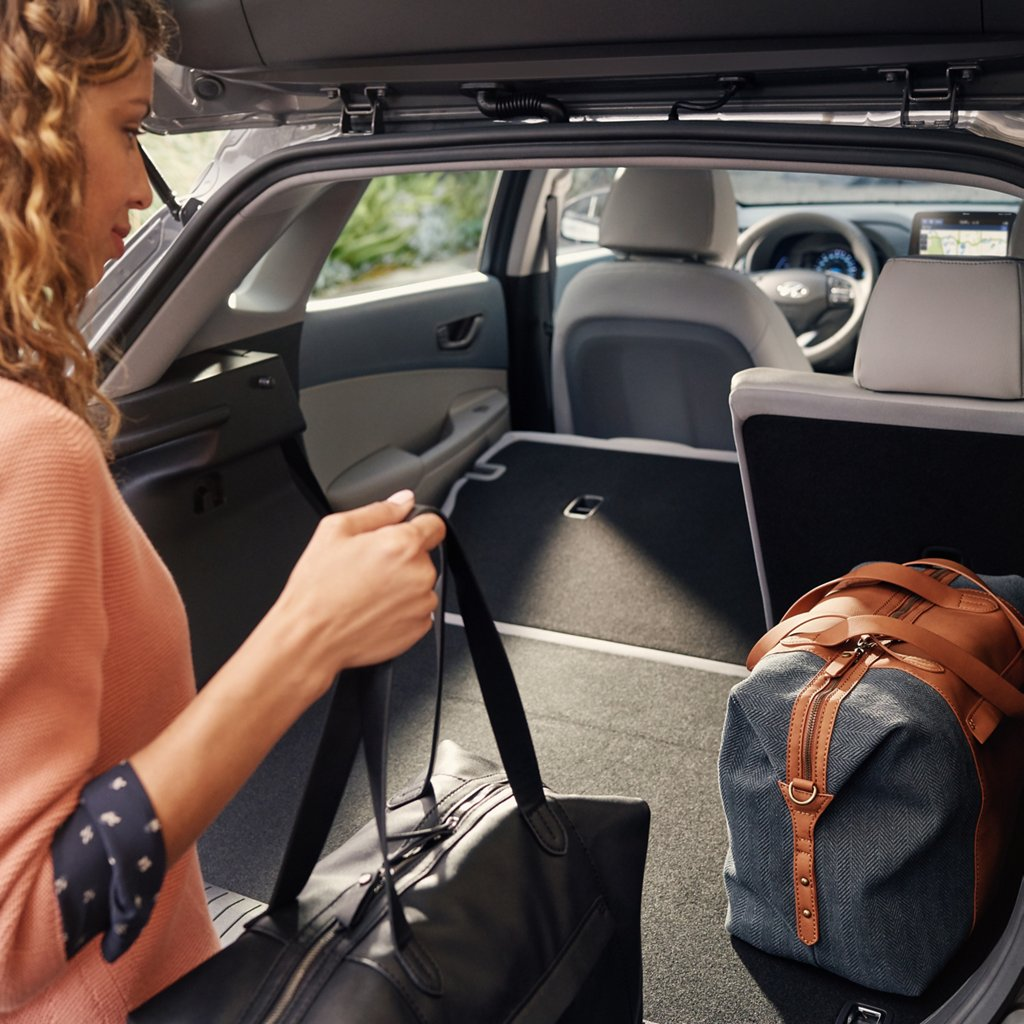 2020 Hyundai Kona Electric trunk space