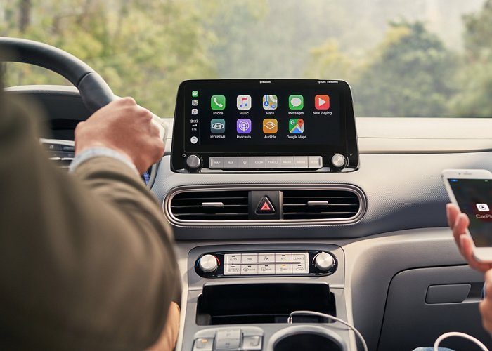Android Auto y Apple CarPlay del Hyundai Kona Electric Ultimate 2020
