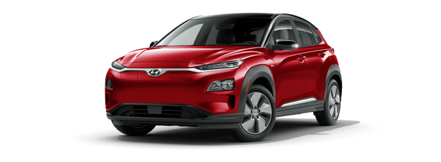 2020 Kona Electric in Pulse Red