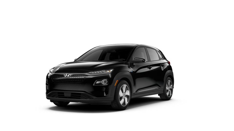 Imagen exterior 360 del 2020 KONA Electric Ultimate en Ultra Black
