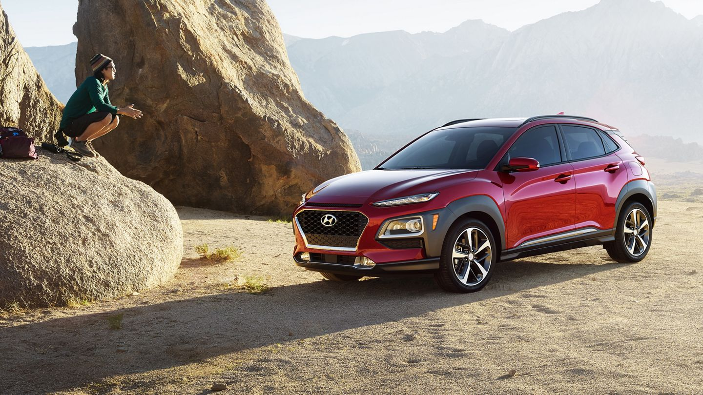 2020 Hyundai Kona in Red