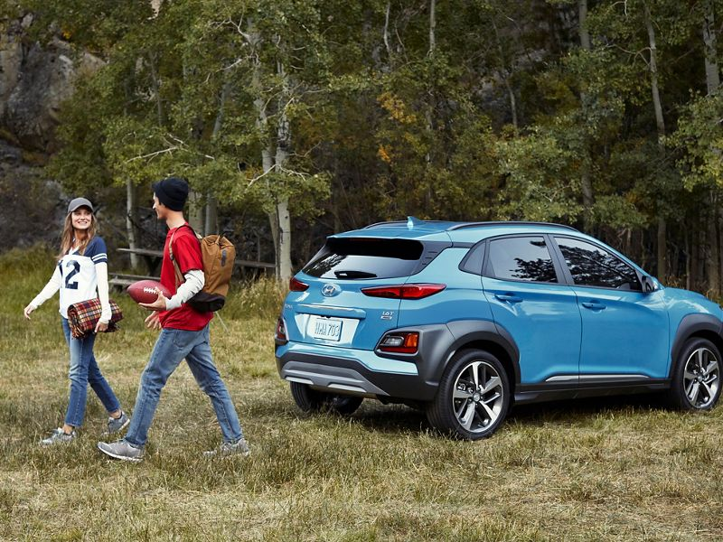 2020 Hyundai Kona Ultimate Blue