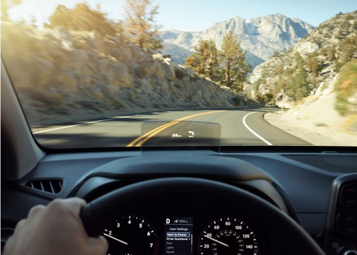 2020 Kona Heads-up Display
