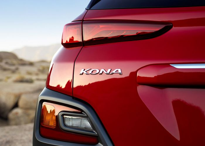 2020 Kona Ultimate rear light