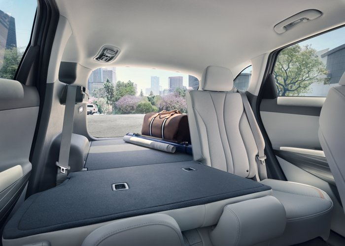 NEXO Fuel Cell Fold Down Rear Seats