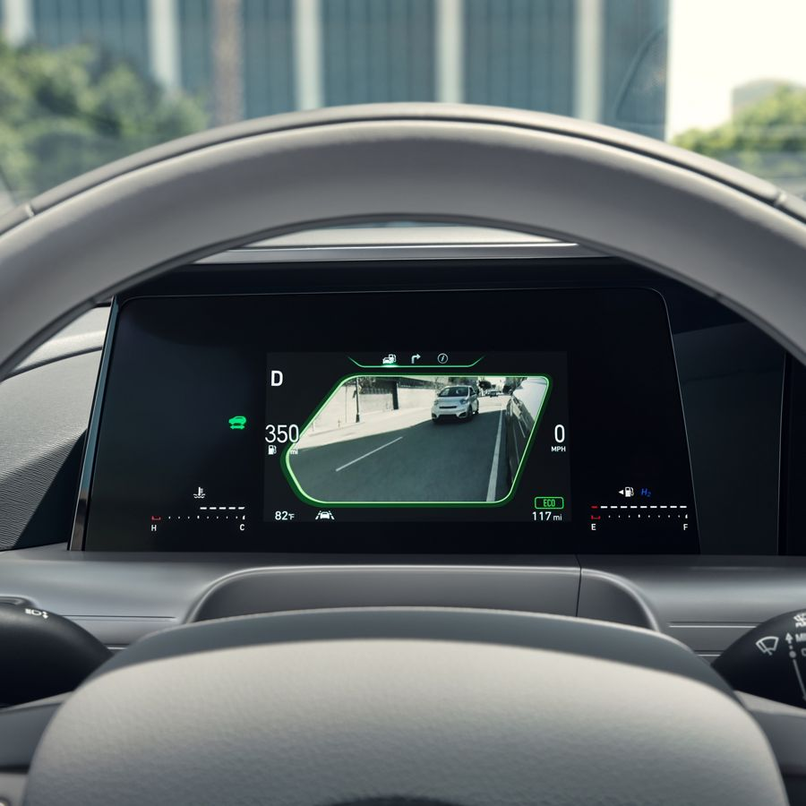 2020 NEXO Fuel Cell Blind View Monitor