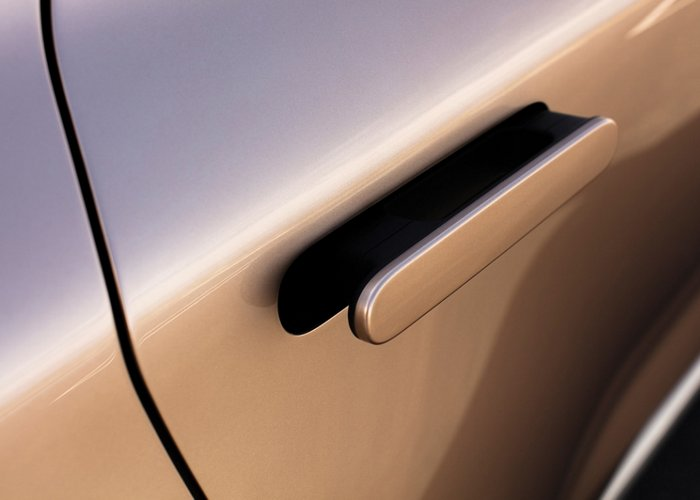 NEXO Fuel Cell door handles