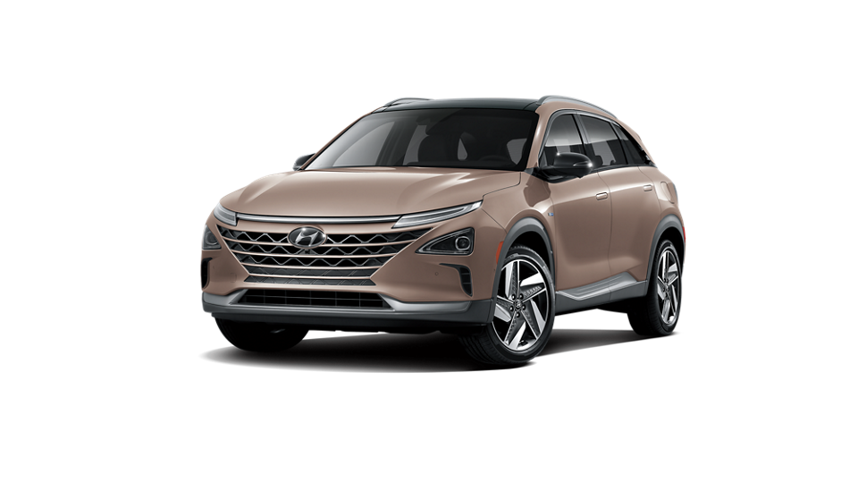 360 Exterior Image of the 2020 NEXO Fuel Cell Limited in Copper Metallic