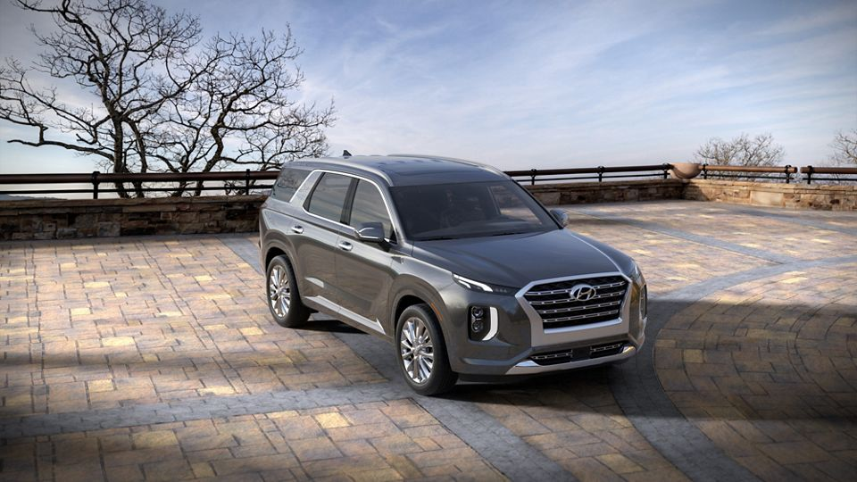 360 Exterior Image of the 2020 PALISADE in Steel Graphite