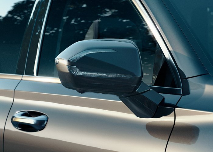 2020 Hyundai Palisade side-mirrors with turn-signal indicators