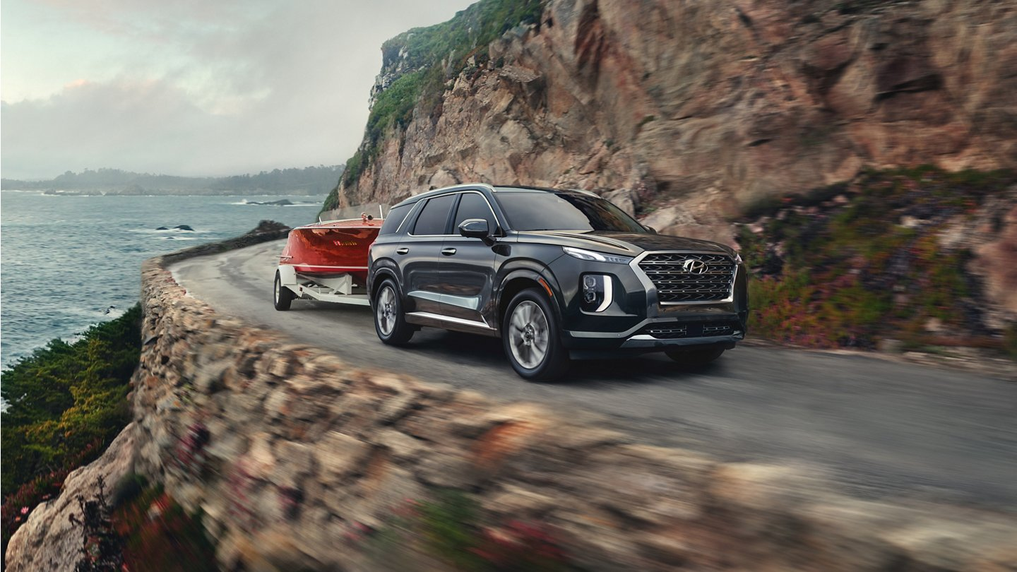 2020 palisade with trailering package