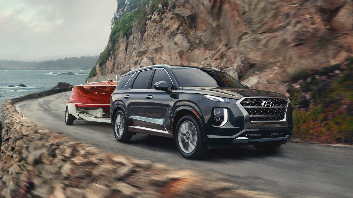 2020 Hyundai Palisade towing capacity