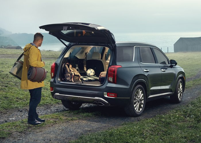 2020 Hyundai Palisade Hands-free Smart Liftgate