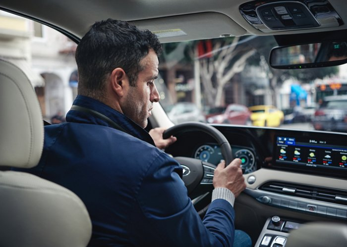 2020 Hyundai Palisade SEL Driver Attention Warning