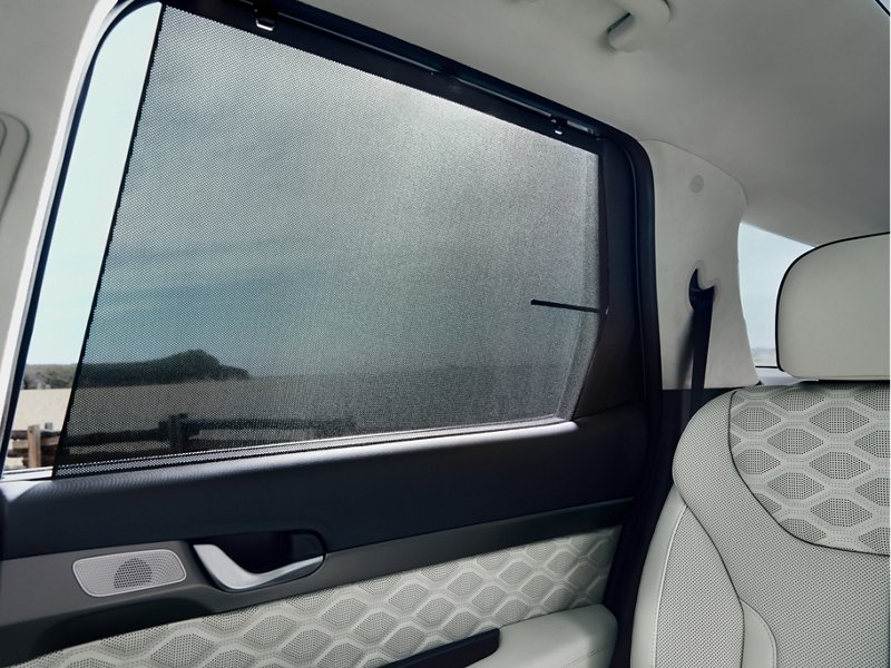 2020 Hyundai Palisade rear window sunshades
