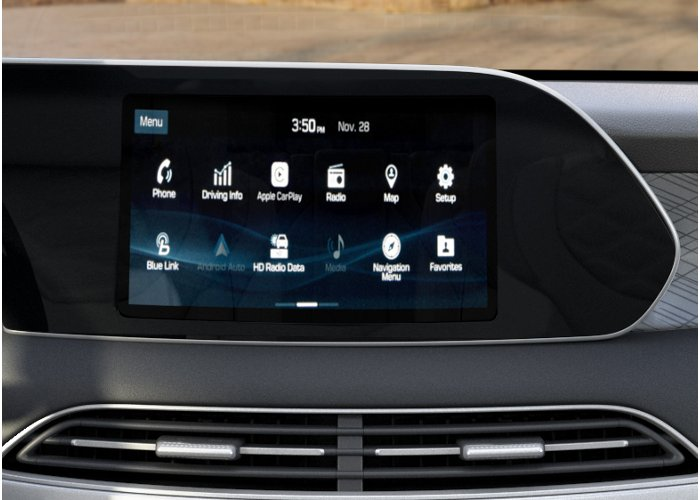 2020 Hyundai Palisade SEL Touchscreen audio display