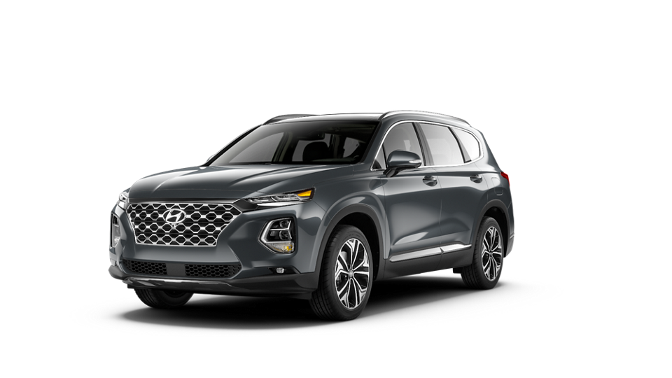360 Exterior Image of the 2020 SANTA FE Limited 2.0T in Rainforest