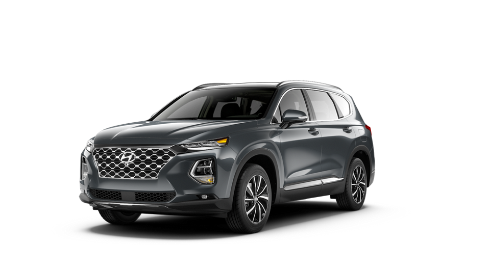 360 Exterior Image of the 2020 SANTA FE Limited in Rainforest