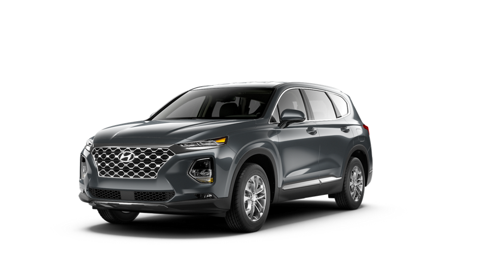 360 Exterior Image of the 2020 SANTA FE SEL in Rainforest