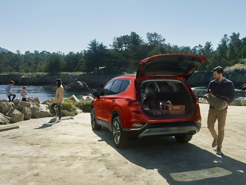 2020 Hyundai Santa Fe Hands-free Smart Liftgate
