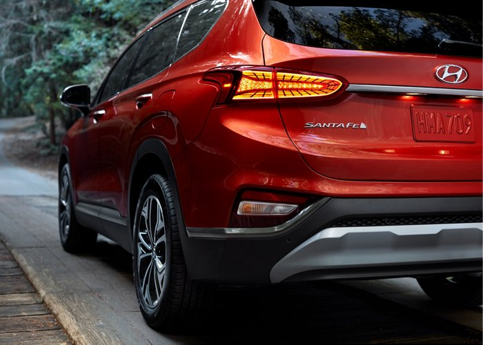 2020 Hyundai Santa Fe SEL Rear Cross traffic Avoidance Assist