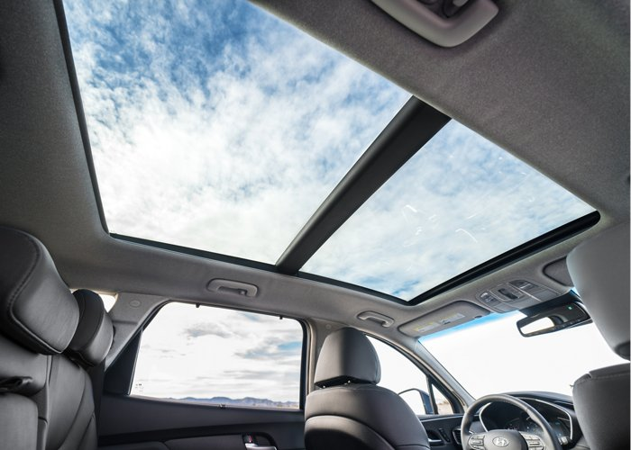 2020 Hyundai Santa Fe Limited Panoramic Sunroof