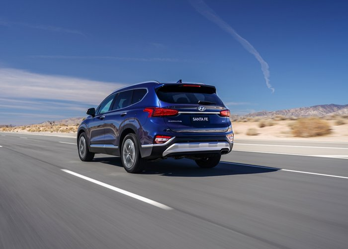 2020 Hyundai Santa Fe SEL Driver Attention Warning