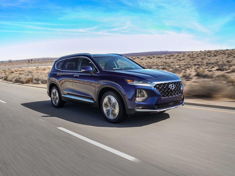 2020 Hyundai Santa Fe Limited Smart Cruise Control