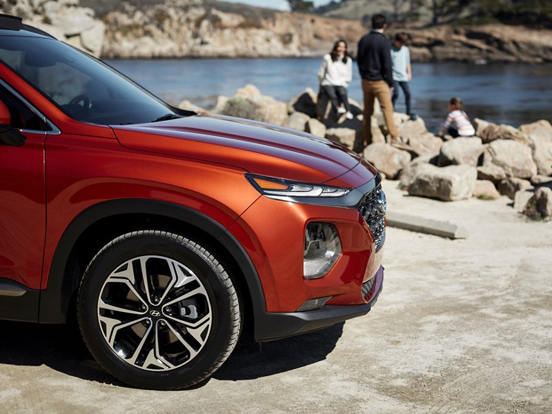 2020 Hyundai Santa Fe Alloy Wheels