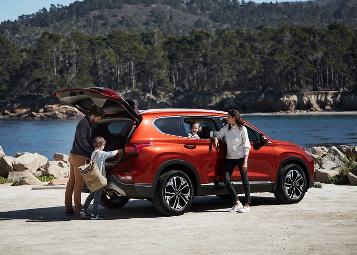 2020 Hyundai Santa Fe Smart Liftgate