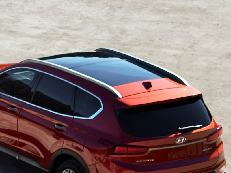 2020 Hyundai Santa Fe Limited Roof Side Rails