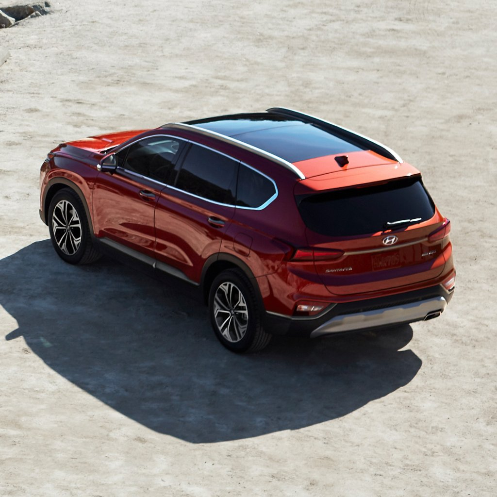 2020 Hyundai Santa Fe Panoramic Sunroof