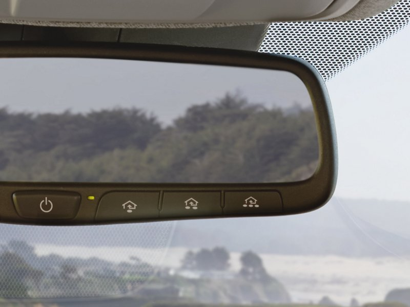 2020 Hyundai Santa Fe Limited Auto Dimming Rearview Mirror