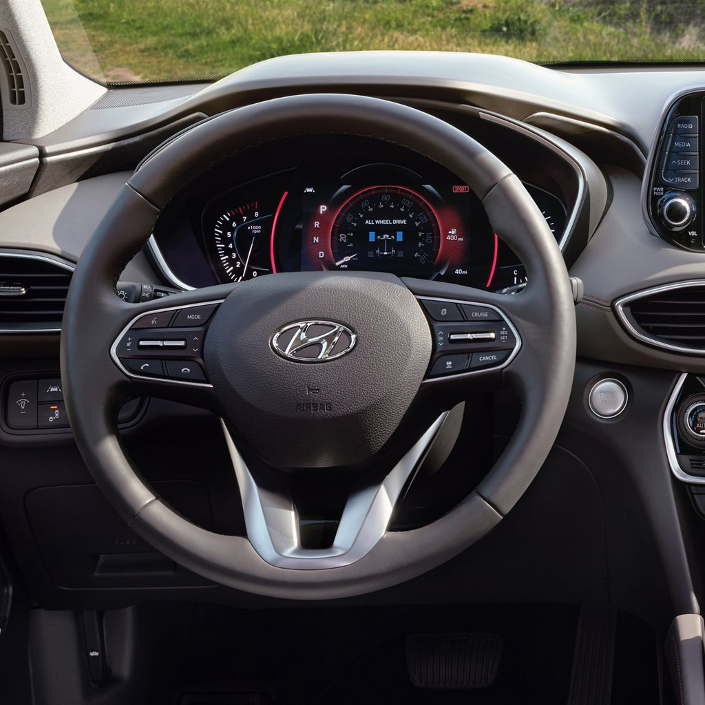 2020 Hyundai Santa Fe Limited Heated Steering Wheel