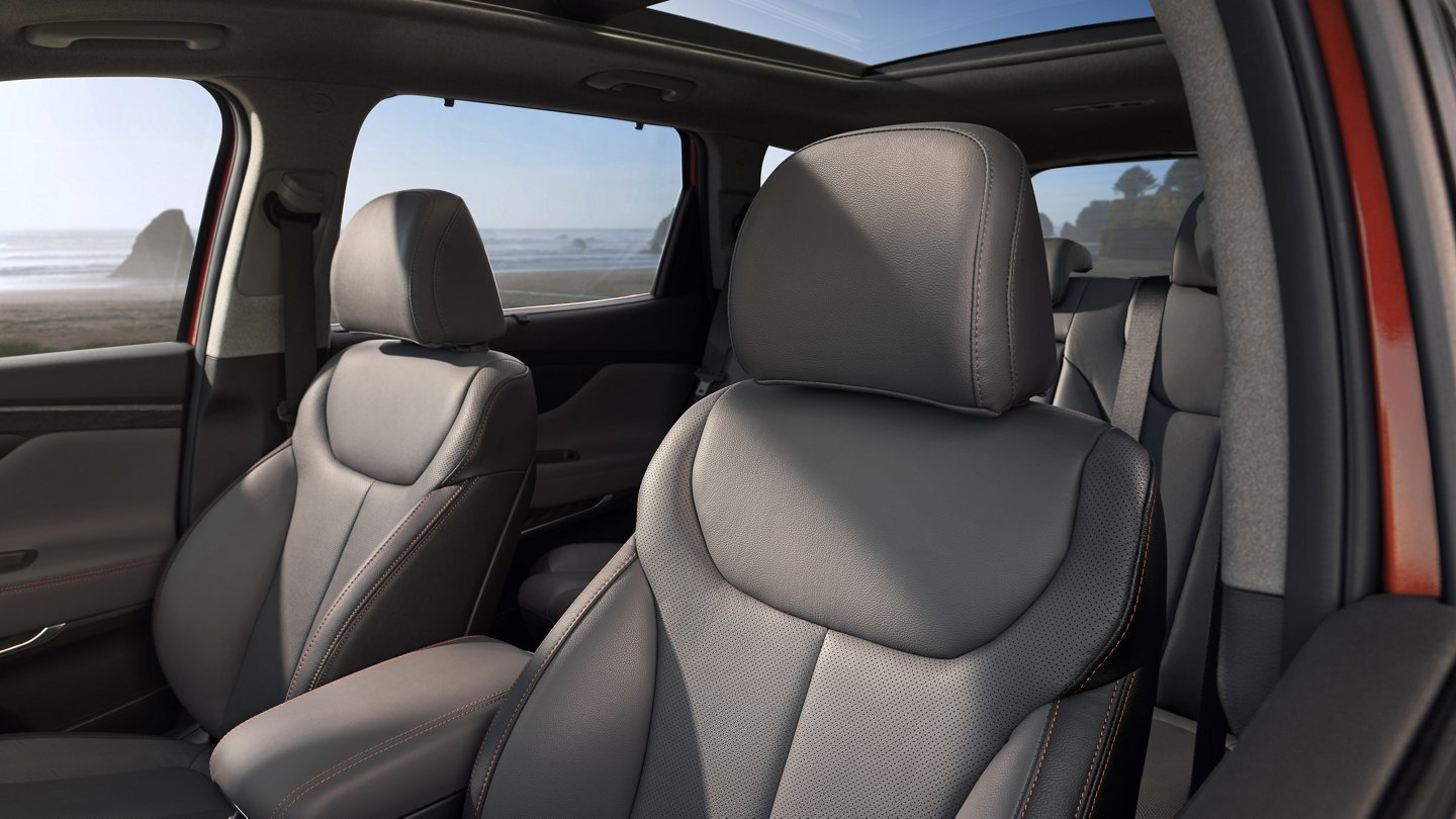 2020 Hyundai Santa Fe Limited Leather Seats