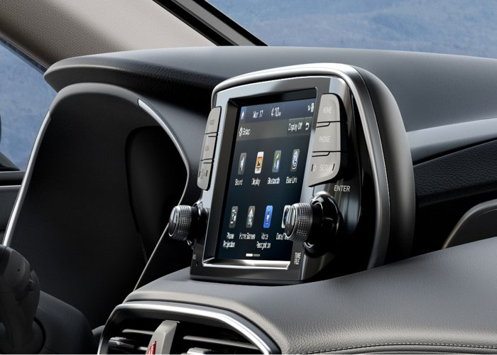 2020 Hyundai Santa Fe SEL Touchscreen audio display