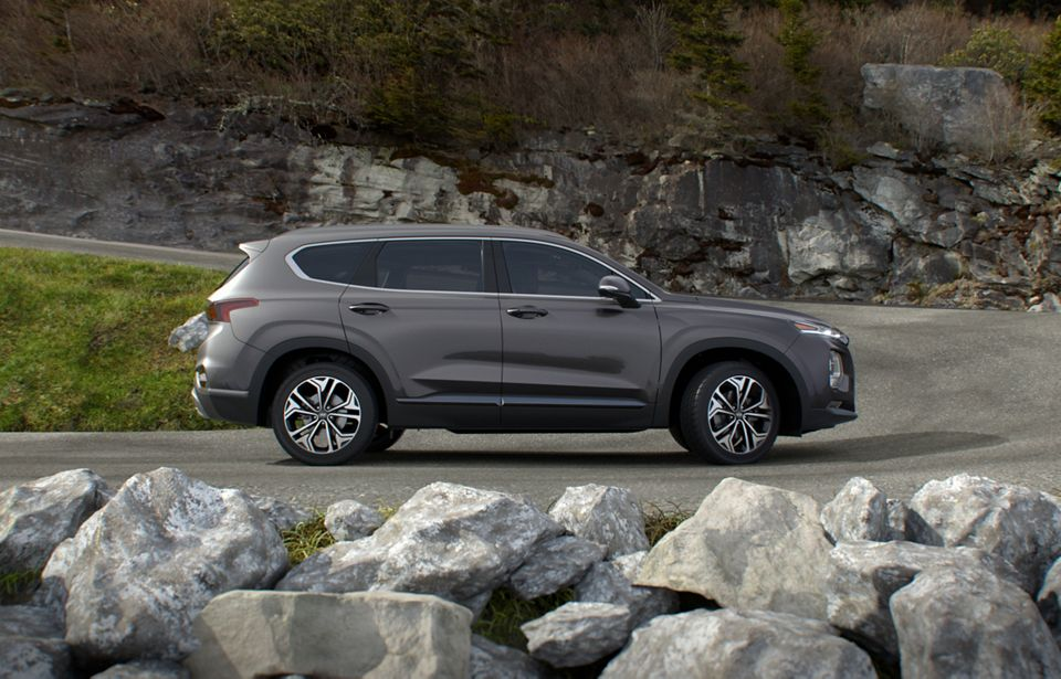 360 Exterior Image of the 2020 SANTA FE in Portofino Gray