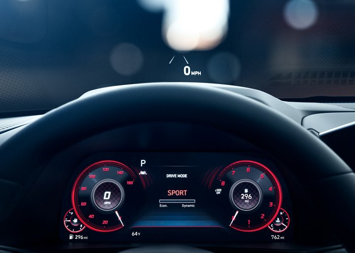 2020 Hyundai Sonata Limited Heads Up Display